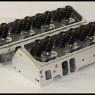 SBC CHEVY NKB-200cc ALUMINUM HEADS 64cc STRAIGHT 272