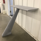 One Piece Fiberglass Dragster Wing