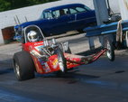 "Front Engine Nostalgia Dragster  180""  for sale $22,000"