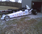 tk 200 in.sbc 4 link dragster  for sale $7,500
