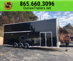 *DEMO UNIT* NEW 2019 OUTLAW STACKER RACE TRAILER- LOADED!&nb