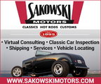 Classic Car Locating, Inspections, Sales