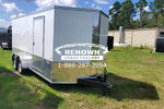 7X16 TA Enclosed Motorcycle Trailer