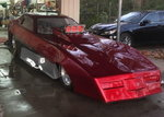 Nostalgic funny car