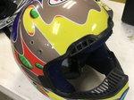 Vintage Jeremy McGrath showtime helmet