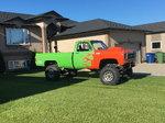 1973 Mud Drag Truck Rolling