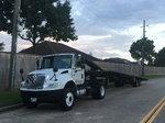 International and four car trailer