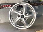 """Porsche BBS 17"""" set of wheels"""