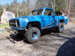 Sportsman off road race truck