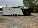 Pace 40' trailer with living space
