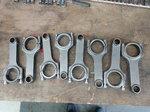 BBC Carrillo steel rods