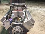 648 cubic inch PAR racing engine