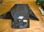 New black Stroud Kevlar parachute pack