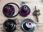 Huddleston clutch-gaged clutch-crankshaft