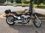2008 Harley Davidson Softail Custom 105th Anniversary bike 9