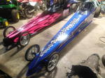 2 jr dragsters,one halfscale roller