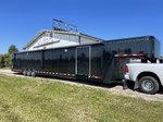 Used 2020 Featherlite 52' enclosed car trailer