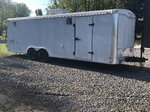 24ft enclosed trailer