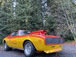 1967 Pontiac Firebird and trailer