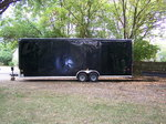 2017 - 28ft long - 8.5ft tall enclosed trailer