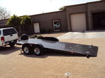 Roll Back Car Trailer no ramps needed for low cars