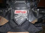 Simpson Hybrid Sport HANS device