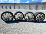 Wheels for Dodge Viper, front rear set
