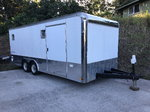 20' Enclosed car trailer
