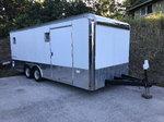 20' Enclosed car trailer