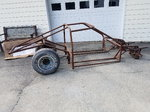 Drag race tube chassis