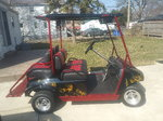 Clubcar golf cart gas