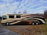 Motor Home and Stacker Trailer