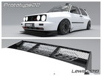 MK1 & MK2 Golf Carbon Fibre Rear Wings
