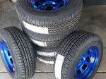 Brand new Aero wheels and tires