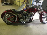 Harley Thunder Mountain Custom softail