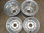 """Weld 10"""" Aluminum Racing Wheels"""