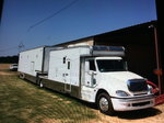 2005 Freightliner and Renegade stacker trailer