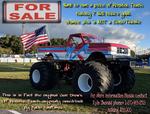 Monster Truck  for sale $31,500