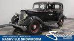 1934 Plymouth PFXX 4 Door Sedan