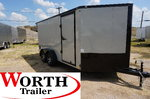 7 x 14 V-Low Motorcycle Trailer ST# 39060