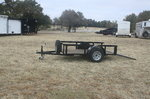 Used 5' x 8' Single Axle Wood Floor Trailer