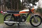 1971 Yamaha R5-B in good original and complete condition