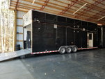 2011 32' Titan Stacker w Dragster Lift and Full Black Wrap   for sale $54,000