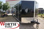 ENCLOSED SCREWLESS CAR HAULER for Sale $8,600