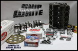 SBC CHEVY 383 SHORT BLOCK KIT FORGED -10cc DISH 4.030 PISTON  for sale $1,995