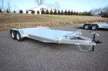 2021 Adam 20ft. Aluminum w/5,200lb. Axles Open Car Trailer for Sale $8,442