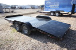2019 Sure-Trac 18ft Steel Deck Open Car Trailer
