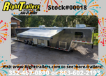 2021 8.5'x46' Vintage Gooseneck Race Trailer  for sale $54,999