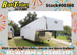 RACE READY - Vintage 40' Race Car Trailer - 7'6 Interior