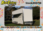 2020 8.5'x28' Haulmark Stacker Race Trailer
